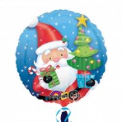 SD-C:Santa with Tree