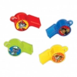 PACKAGED WHISTLES PAW PATROL