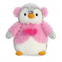 PomPom Penguin Pink Jacket 9In