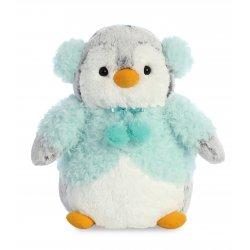 PomPom Penguin Aqua Jacket 9In