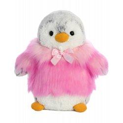 PomPom Penguin HP Pink 9In