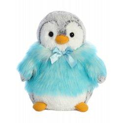 PomPom Penguin HP Teal 9In