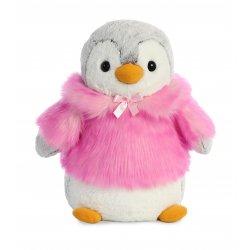 PomPom Penguin HP Pink 16In