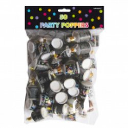 50 Standard Party Poppers