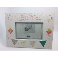 COMMUNION TROVE PHOTO FRAME LANDSCAPE GIRL