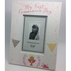 COMMUNION TROVE PHOTO FRAME Portrait Girl
