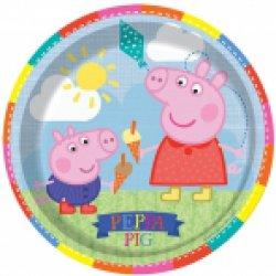 PEPPA PIG 9 INCH PLATES