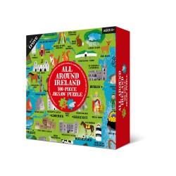 Alll Around Ireland  Map Kids Jigsaw