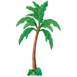 CUTOUT jointed:PALM TREE 1.8cm
