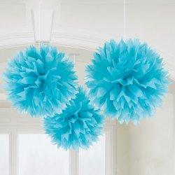 FLUFFY DECO BLUE