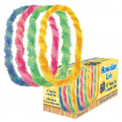 Box of Assorted Fringe Leis