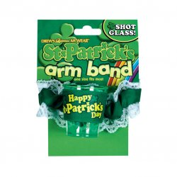 St. Patrick's Day Shot Glass Armband