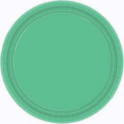 PLATE 22.8cm s/c:festive green