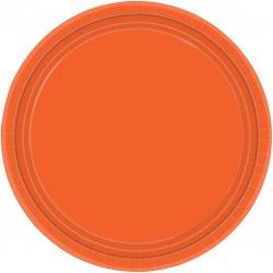 PLATE 22.8cm s/c:orange pl