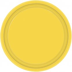 PLATE 22.8cm s/c:yellow ss