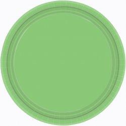 PLATE 22.8cm s/c:kiwi green