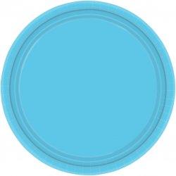 PLATE 22.8cm s/c:caribb'n blue
