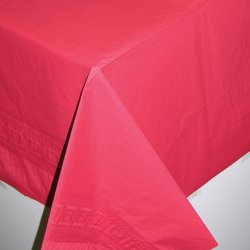 TABLECOVER emb s/c:apple red