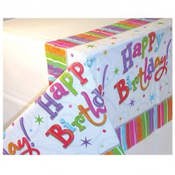 TABLECOVER plas:RADIANT BDAY