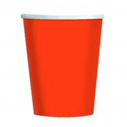 CUP 266ml s/c:orange pl