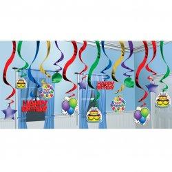 Balloon Fun Hanging Swirls