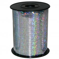 Holographic Silver Balloon Ribbon 250yd