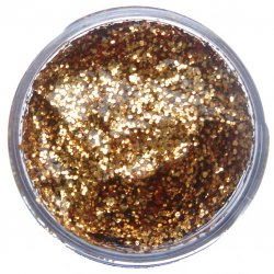 SNAZ 12ml Glitter  - RED GOLD