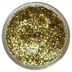SNAZ 12ml Glitter  - YELL GOLD
