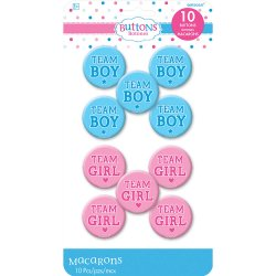 BUTTONS GIRL OR BOY?