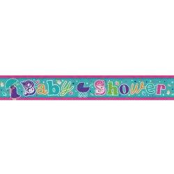 Banner 2.7m Holog Baby Shower