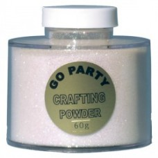 CRAFTING POWDER MIXED WHTE IRIDESENT