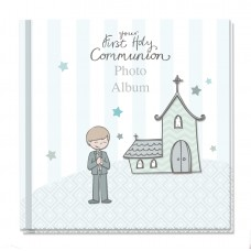 Communion Photo Album Boy