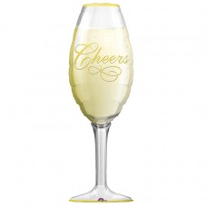 S/SHAPE PKGD:CHAMPAGNE GLASS