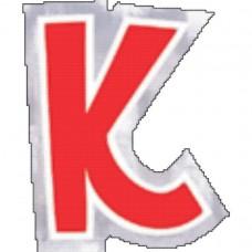 PERSONALISED RANGE:  K