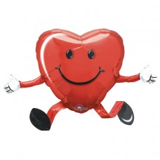 Happy Hugs Red Heart Airwalker