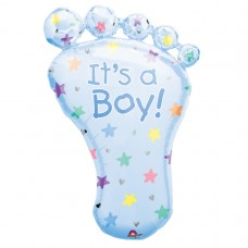S/SHAPE PKGD:FOOT - ITS A BOY
