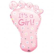 S/SHAPE PKGD:FOOT - ITS A GIRL
