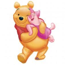 S/SHAPE PKGD:BIG POOH HUG