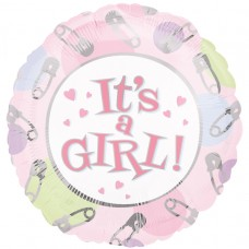 18IC:IT'S A GIRL DOTS & PINS