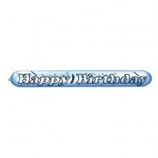 Happy Birthday Banner Latex Balloons