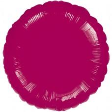 Burgundy Circle