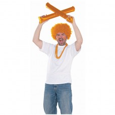 SPIRIT STICKS ORANGE AMSCAN S
