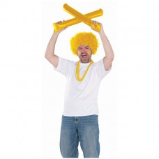 SPIRIT STICKS YELLOW AMSCAN S
