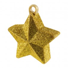 Gold Glitter Star Balloon Weight