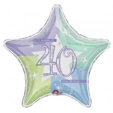 19IS:BIRTHDAY SHIMMER 40 pris