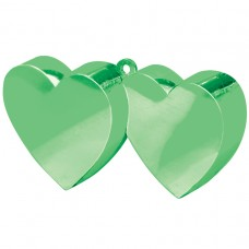 Green Double Heart Balloon Weight