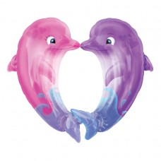 S/SHAPE:KISSING DOLPHINS