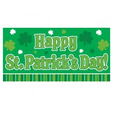 Happy St. Patrick's Day Horizontal Banner