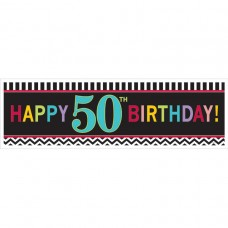 50th Chevron HB Giant Banner