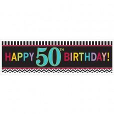 50th Chevron HB Giant Banner